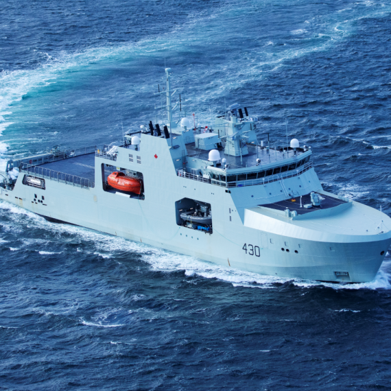 The Future HMCS Harry DeWolf - Builder's Sea Trials