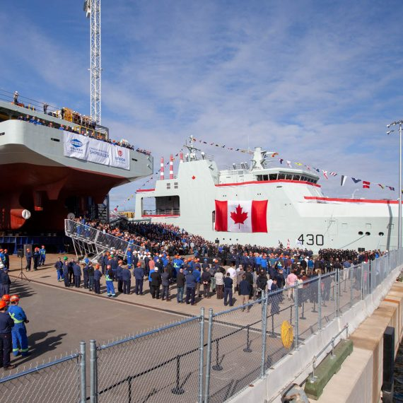 HMCS Harry DeWolf Naming Ceremony