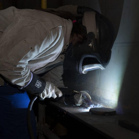 Keel Laying Ceremony for future HMCS William Hall